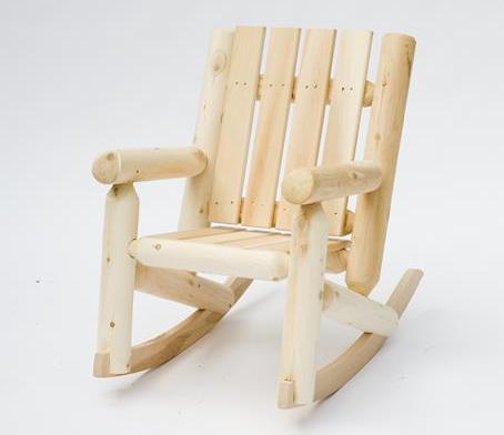 junior rocking chair cedar looks. Black Bedroom Furniture Sets. Home Design Ideas