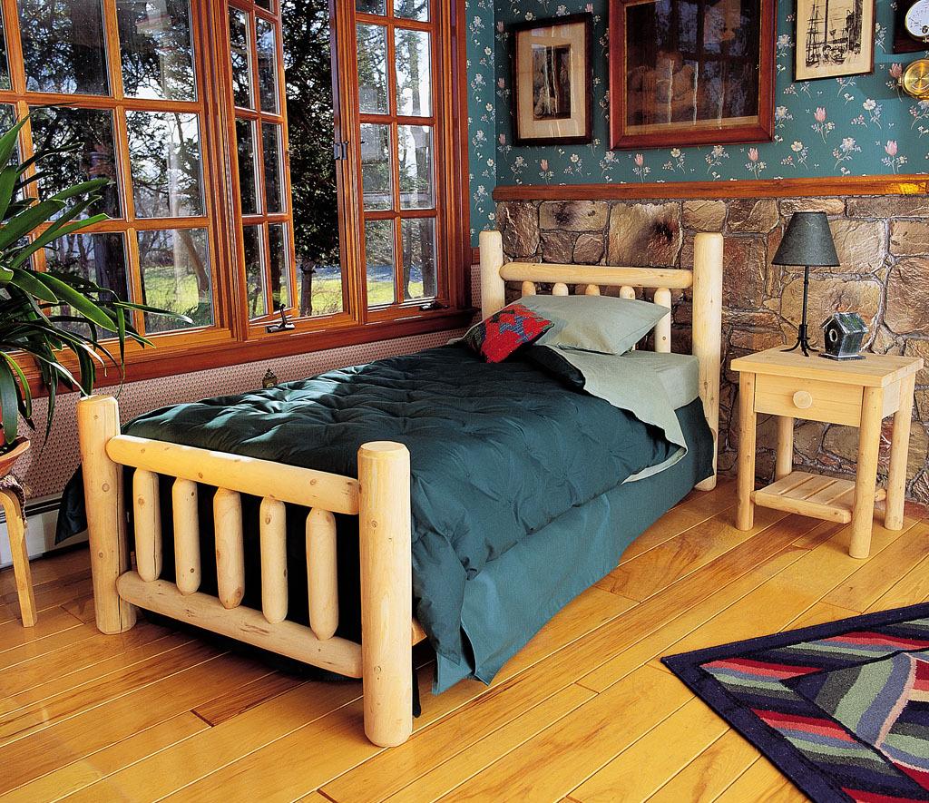 Wood Bedroom Furniture - Cedar Looks