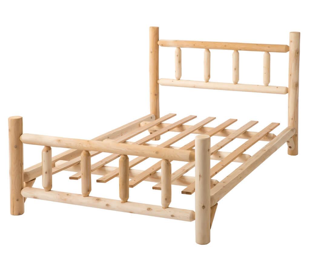 lit rustique authentique. Black Bedroom Furniture Sets. Home Design Ideas